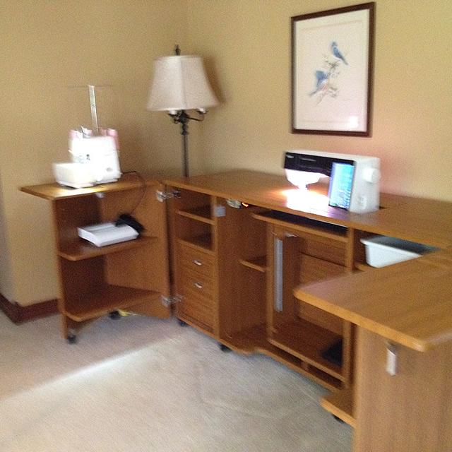 sewing cabinet for sale indy chapter asg. Black Bedroom Furniture Sets. Home Design Ideas
